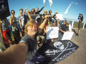 Save our Skipper day of support for Paul Watson