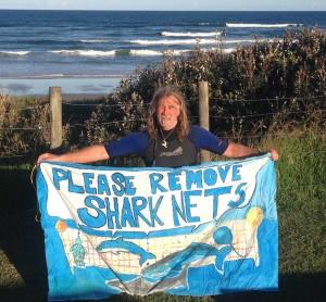 remove shark nets